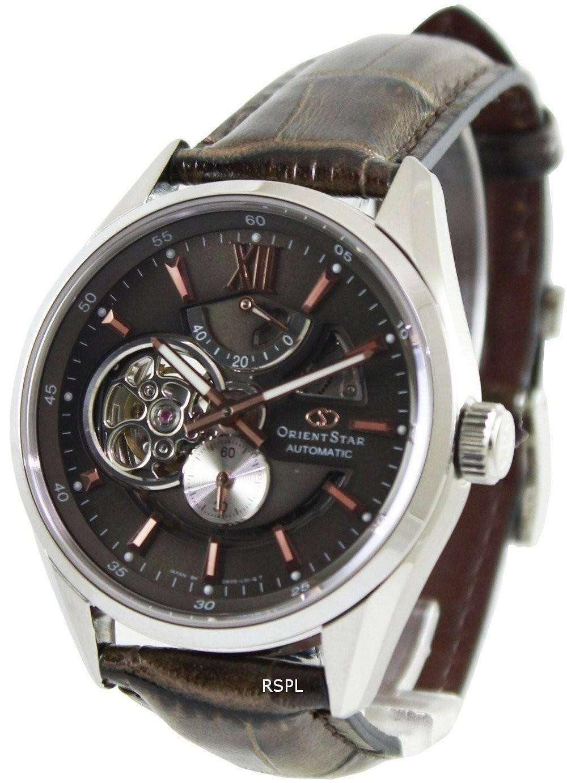 99d14dd9b26 Orient Star Automatic Semi Skeleton Power Reserve SDK05004K DK05004K Mens  Watch