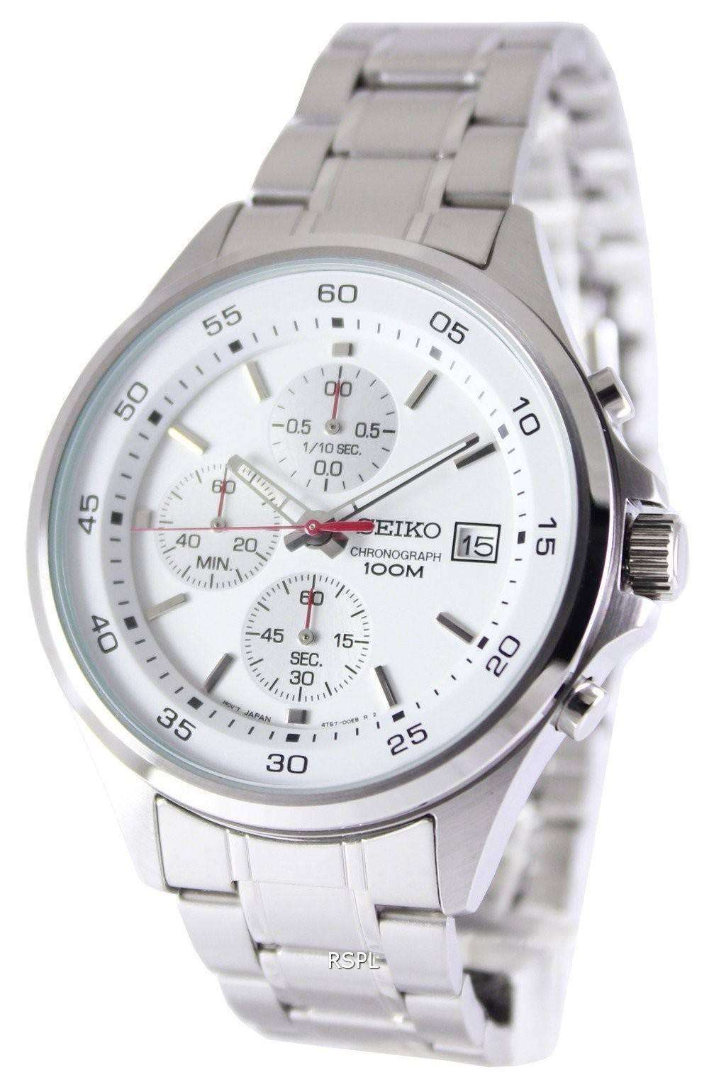 seiko chronograph quartz 100m sks473p1 sks473p mens