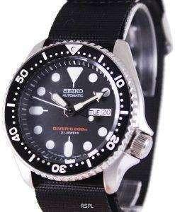 Seiko Automatic Diver's 200M NATO Strap SKX007J1-NATO4 Mens Watch
