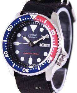 Seiko Automatic Divers 200M NATO Strap SKX009K1-NATO4 Mens Watch