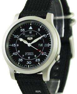 Seiko Automatic Military Nylon Mens Watch SNK809K2
