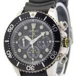 Seiko Solar Chronograph SSC021P1 Mens Watch