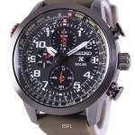 Seiko Prospex Sky Solar Chronograph Pilots SSC353P1 SSC353P Mens Watch