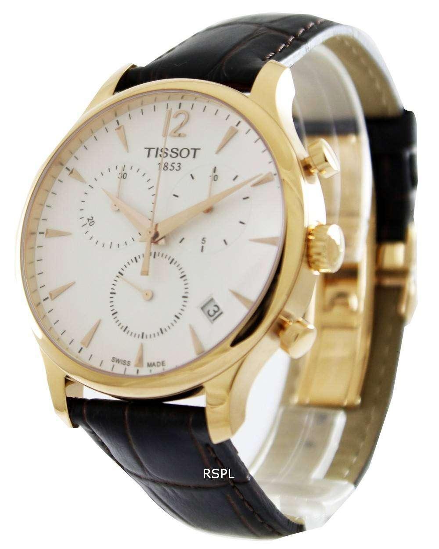 321c0e1a708 Tissot T-Classic Tradition Chronograph T063.617.36.037.00 Watch ...