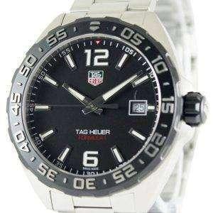Tag Heuer Formula One Black Dial Stainless Steel WAZ1110.BA0875 Men's Watch
