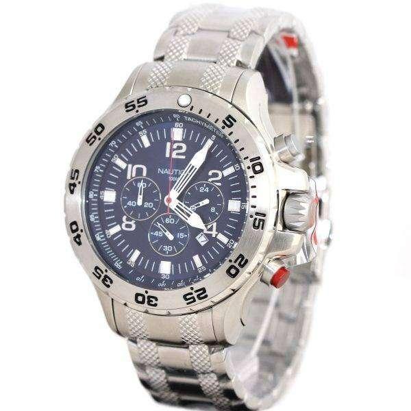 Nautica Mens N19509G NST Chronograph Watch