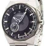 Citizen Eco-Drive F100 Satellite Wave Air GPS World Time CC2006-53E Mens Watch