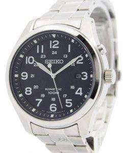 Seiko Kinetic Black Dial 100M SKA721P1 SKA721P Men's Watch