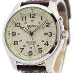 Seiko Kinetic Beige Dial 100M SKA723P1 SKA723P Men's Watch