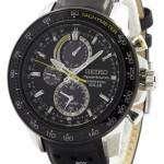 Seiko Sportura Solar Chronograph Perpetual SSC361P1 SSC361P Mens Watch