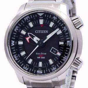 Citizen Eco-Drive Promaster GMT 200M BJ7081-51E Mens Watch
