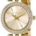 Michael Kors Mini Darci Swarovski Crystals Gold Tone MK3295 Women's Watch
