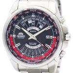 Orient Automatic Multi Year Calendar World Time EU0B001B Mens Watch
