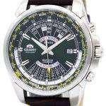 Orient Automatic Multi Year Calendar World Time EU0B003F Mens Watch