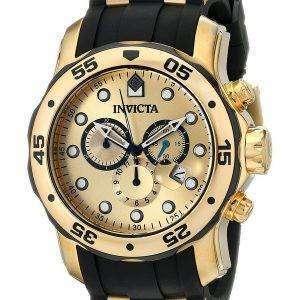 Invicta Pro Diver Quartz Chronograph 200M 17885 Mens Watch