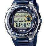 Casio Wave Ceptor Atomic Multiband 5 Digital WV-200E-2AV Mens Watch