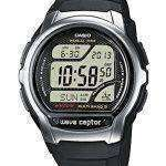 Casio Wave Ceptor Atomic Multiband 5 Digital WV-58E-1AV Mens Watch