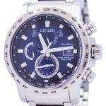 Citizen Eco-Drive Atomic Radio Controlled World Time AT9070-51L Mens Watch
