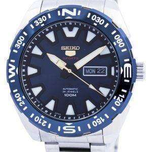 Seiko 5 Sports Automatic 24 Jewels Japan Made SRP747 SRP747J1 SRP747J Mens Watch