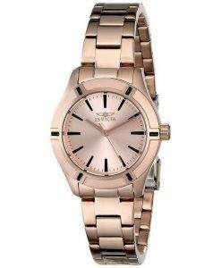 Invicta Pro Diver Quartz Rose Gold 18031 Womens Watch