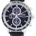 Seiko Solar Alarm Chronograph SSC501 SSC501P1 SSC501P Mens Watch