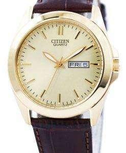 Citizen Quartz Gold Tone Analog BF0582-01P Men's Watch