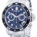Invicta Pro Diver Chronograph 200M 0069 Mens Watch