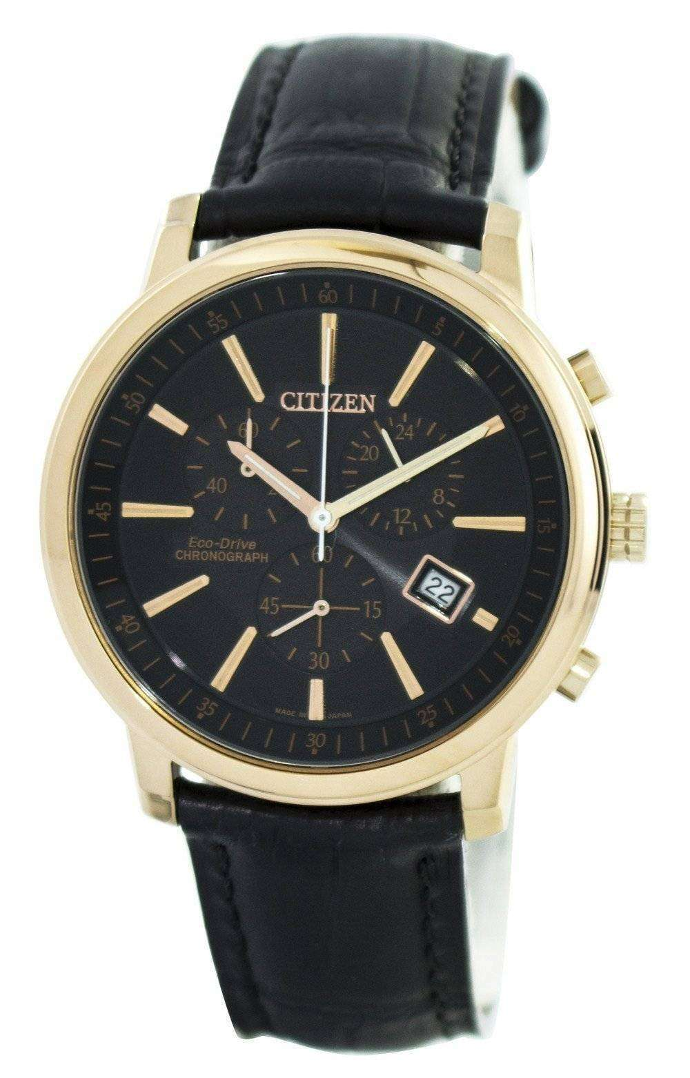 citizen eco drive chronograph at0496 07e s
