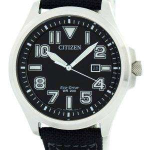 Citizen Eco-Drive Military 200M AW1410-24E Men's Watch