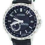 Citizen Eco-Drive Satellite Wave World Time Japan Made CC3001-01E Men's Watch
