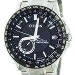 Citizen Eco-Drive Satellite Wave World Time Japan Made CC3007-55E Men's Watch