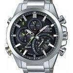 Casio Edifice Tough Solar Dual Dial World Time Bluetooth EQB-500D-1A Men's Watch