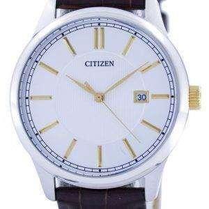 Citizen Quartz Silver Dial BI1054-04A Mens Watch