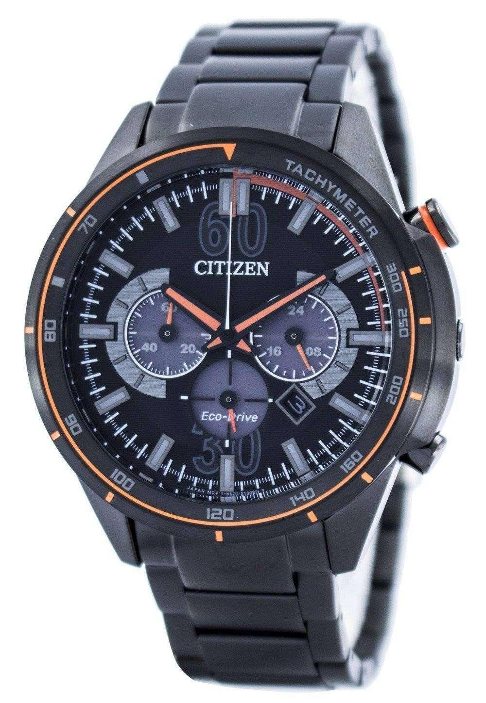 aed8e19e4 Citizen Eco-Drive Chronograph Tachymeter Scale CA4125-56E Mens Watch ...