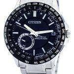 Citizen Eco-Drive Satellite Wave GPS World Time Power Reserve CC3005-51E Mens Watch