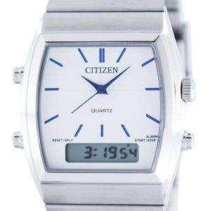 Citizen Quartz Alarm Chronograph Analog Digital JM0540-51A Mens Watch