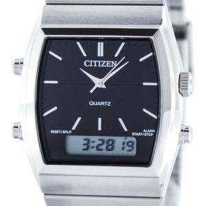 Citizen Quartz Alarm Chronograph Analog Digital JM0540-51E Mens Watch