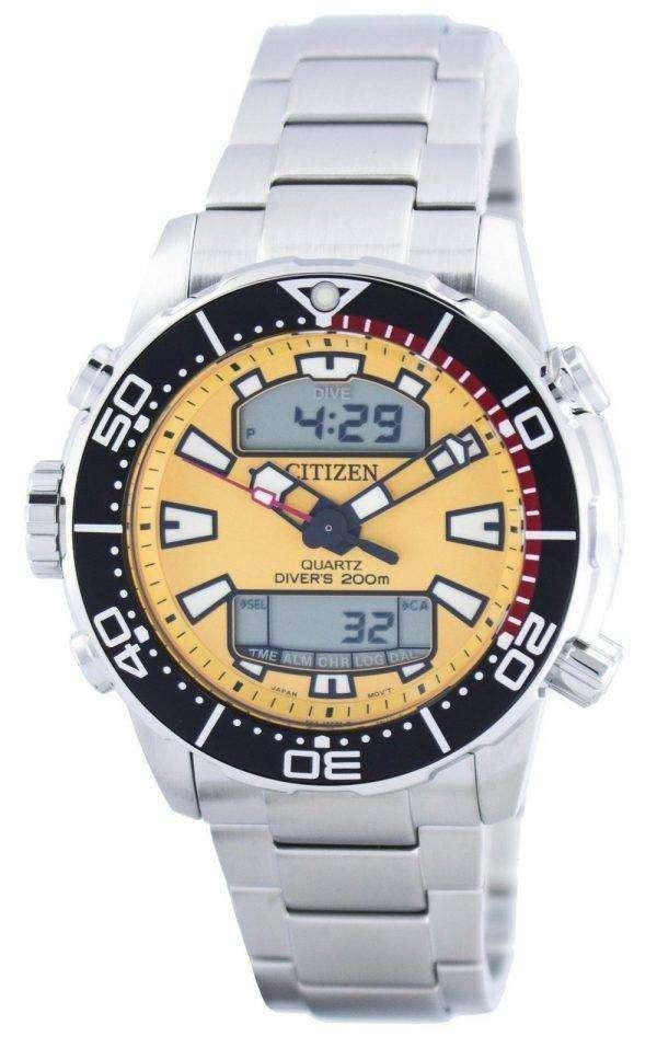 Citizen Aqualand Promaster Divers 200M Analog Digital JP1090-86X Mens Watch