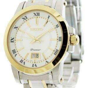 Seiko Premier Big Date Calendar SUR016P1 SUR016P SUR016 Mens Watch