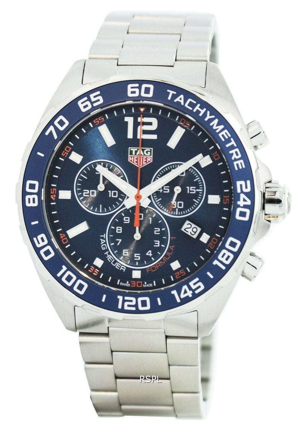 Tag Heuer Formula 1 Chronograph Quartz Tachymeter 200M ...