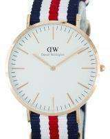 Daniel Wellington Classic Canterbury Quartz DW00100002 (0102DW) Mens Watch