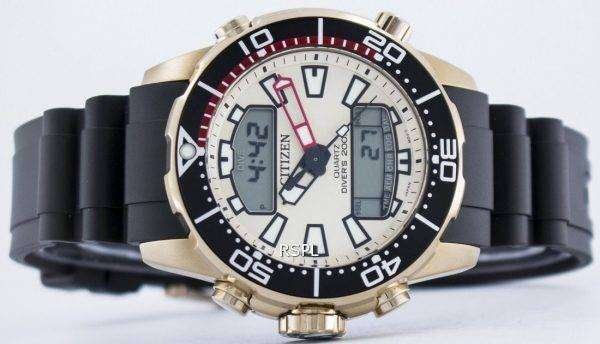 Citizen Aqualand Promaster Divers 200M Analog Digital JP1093-11P Mens Watch