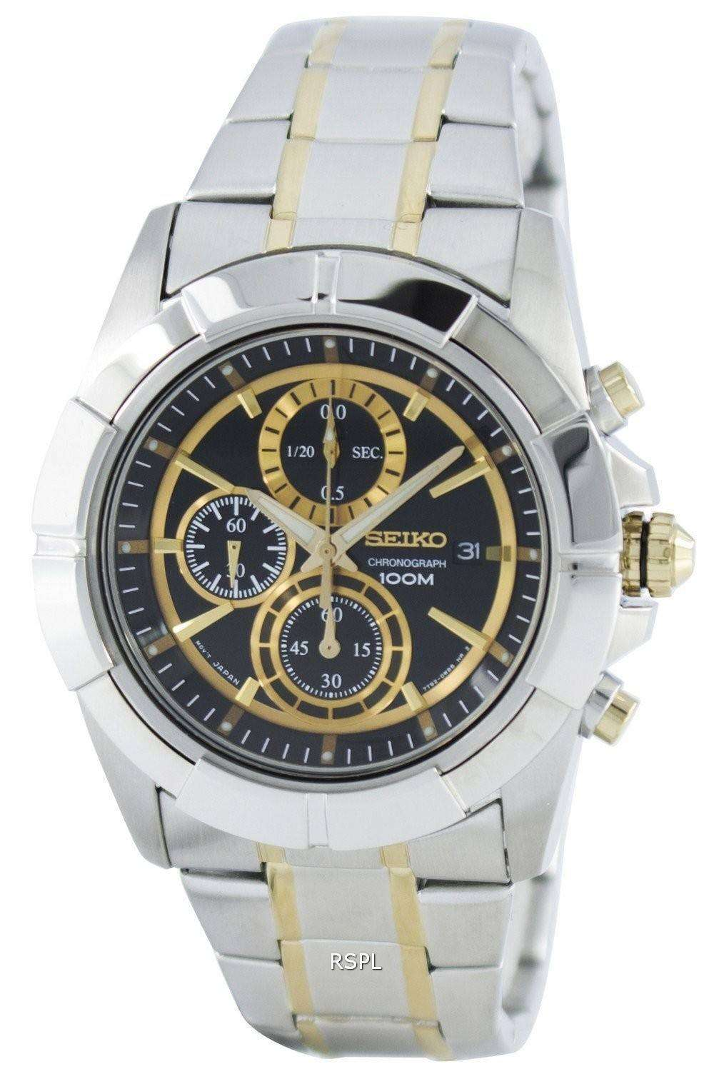 Seiko Lord Quartz Chronograph SNDE70 SNDE70P1 SNDE70P Men s Watch ... 3274f19192a