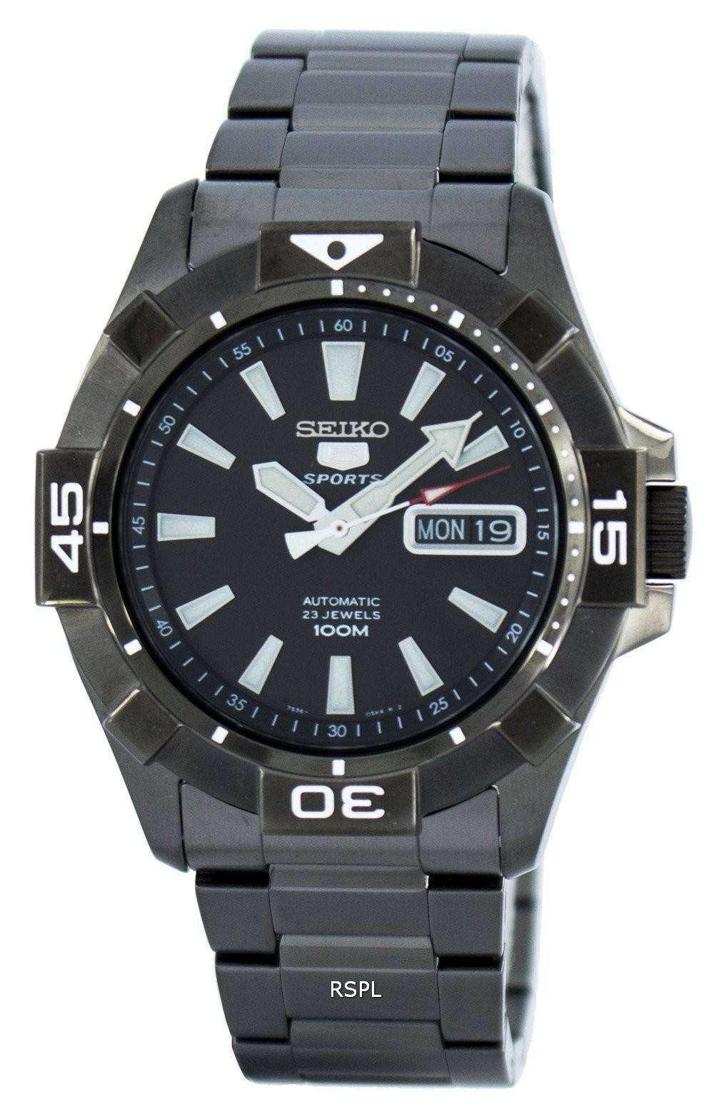 Seiko 5 Sports Automatic 23 Jewels SNZH15 SNZH15K1 SNZH15K ...