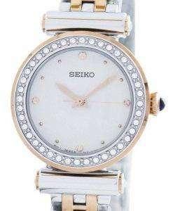 Seiko Quartz 44 Swarovski Crystals SRZ466 SRZ466P1 SRZ466P Women's Watch