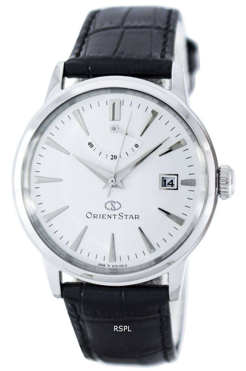 orient star classic automatic power reserve saf02004w0 men