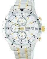 Seiko Quartz Chronograph SKS563 SKS563P1 SKS563P Men's Watch