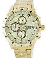 Seiko Quartz Chronograph SKS566 SKS566P1 SKS566P Men's Watch