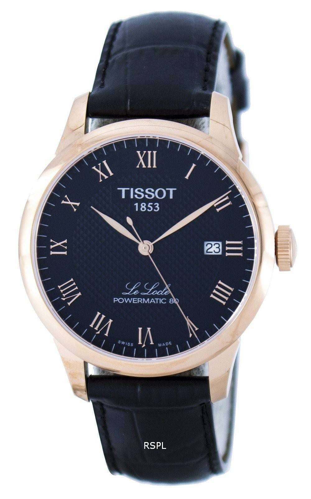 Diesel For Sale >> Tissot T-Classic Le Locle Powermatic 80 T006.407.36.053.00 T0064073605300 Men's Watch ...