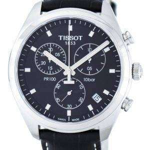 Tissot T-Classic PR100 Quartz Chronograph T101.417.16.051.00 T1014171605100 Men's Watch